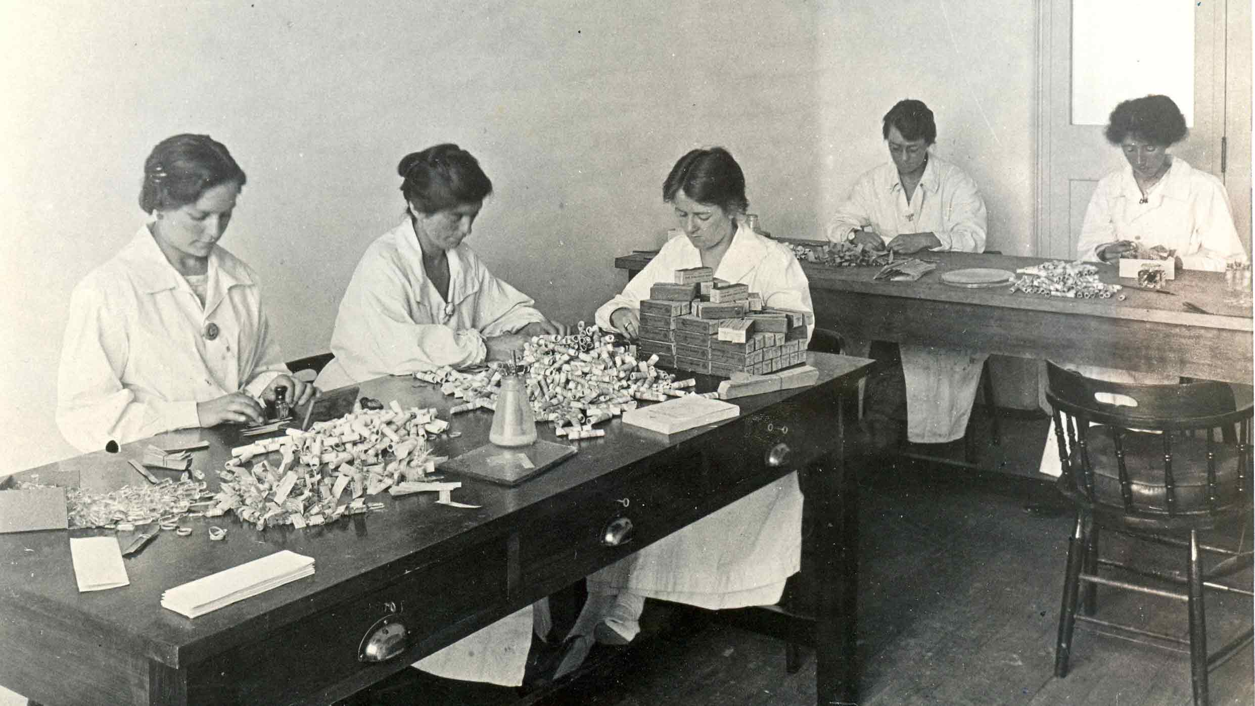 Influenza Production 1920